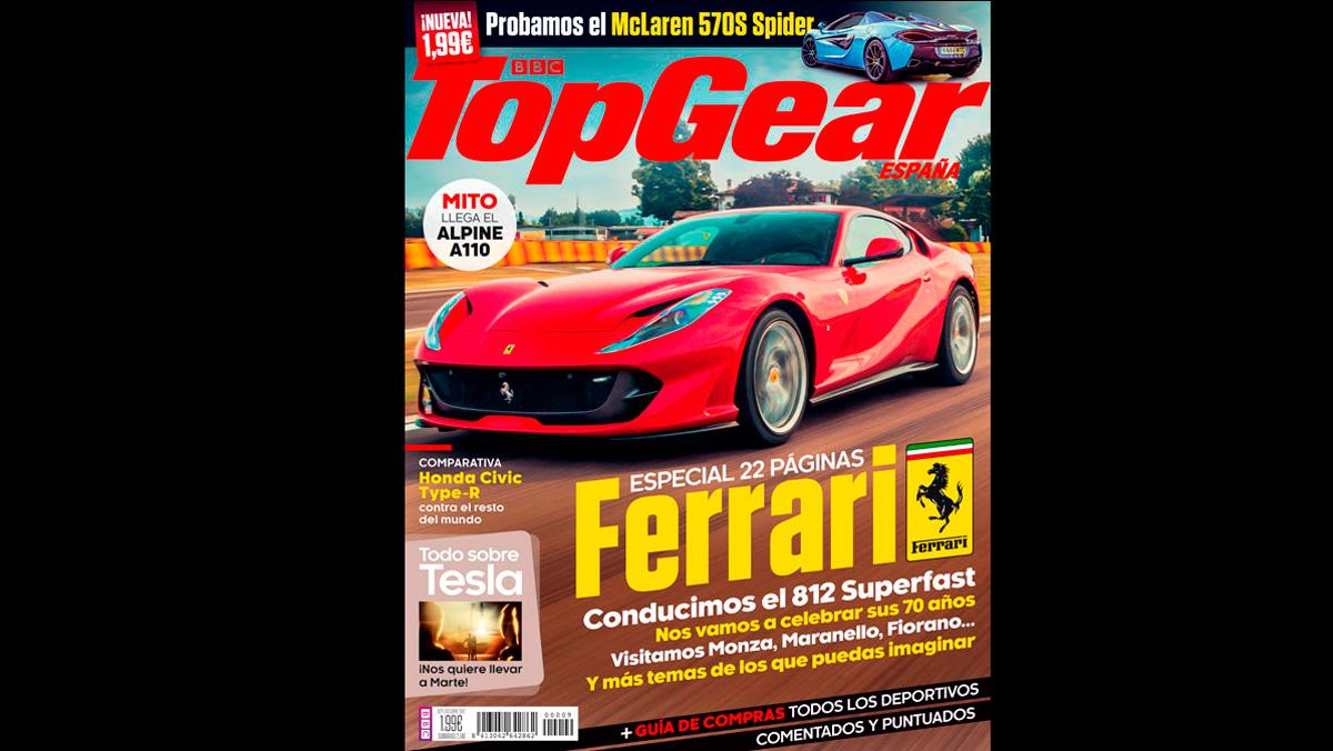 El n mero 9 de la revista top gear espa a ya est aqu for Revista primicias ya hoy