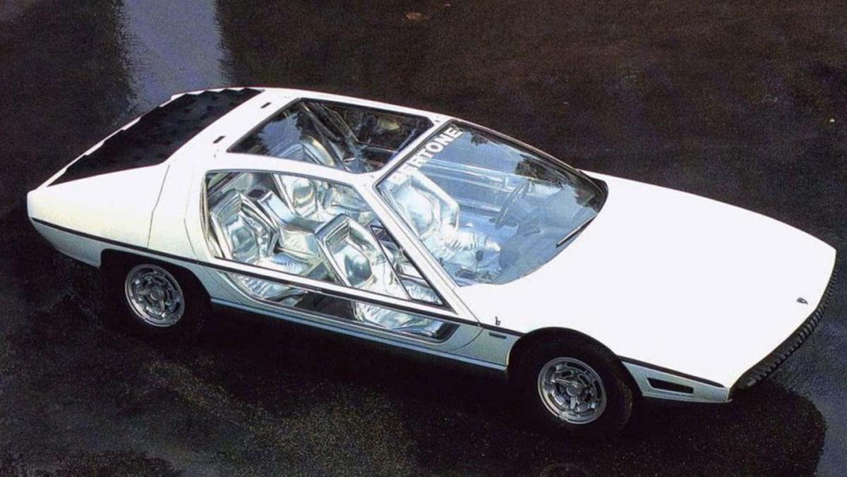 Zenital del Lamborghini Marzal
