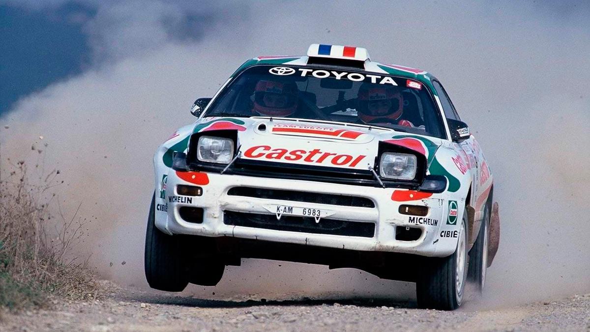 Los 10 mejores Toyota de rallys: Toyota Celica ST 185