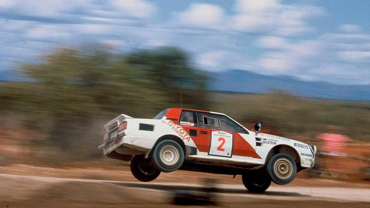 Los 10 mejores Toyota de rallys: Toyota Celica TCT