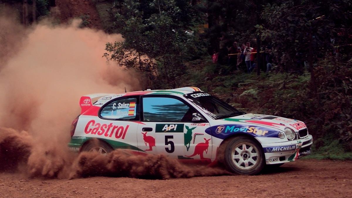 Los 10 mejores Toyota de rallys: Toyota Corolla WRC