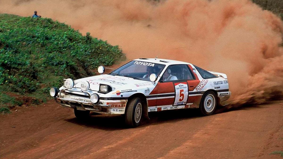 Los 10 mejores Toyota de rallys: Toyota Supra