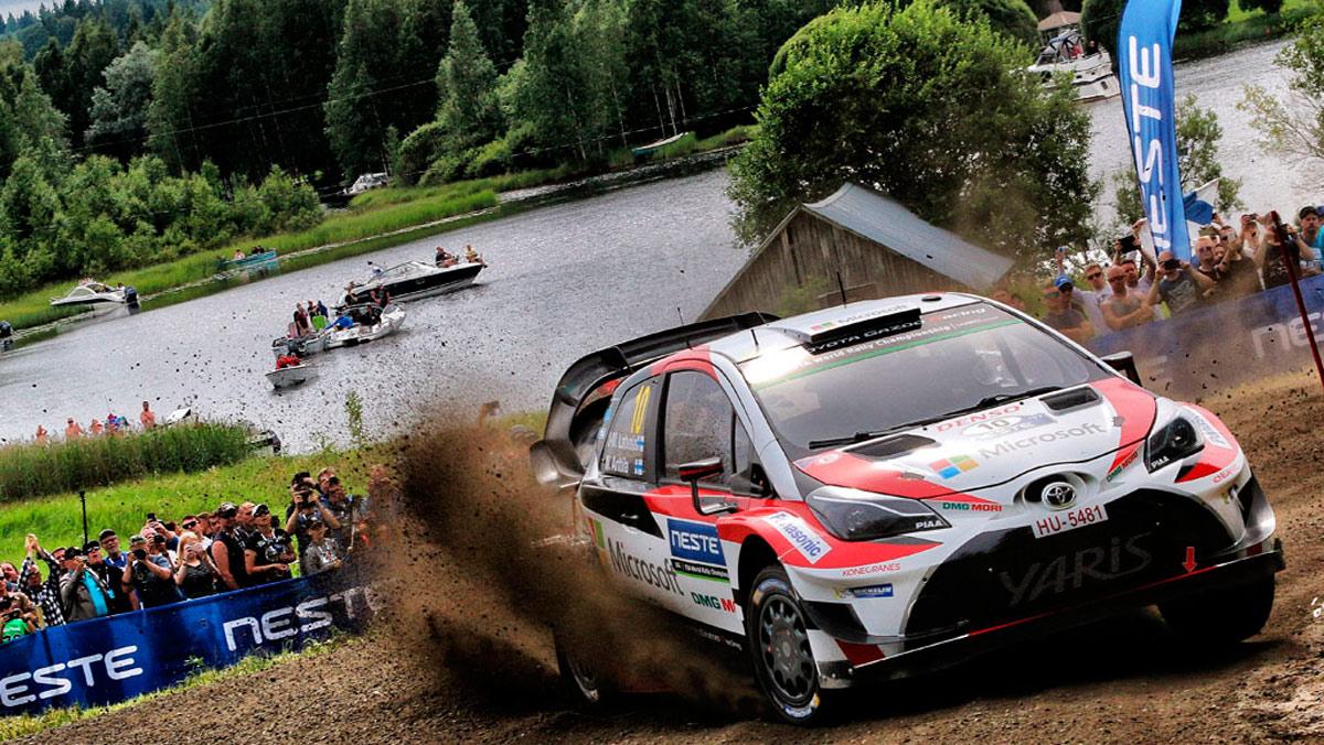 Los 10 mejores Toyota de rallys: Toyota Yaris WRC