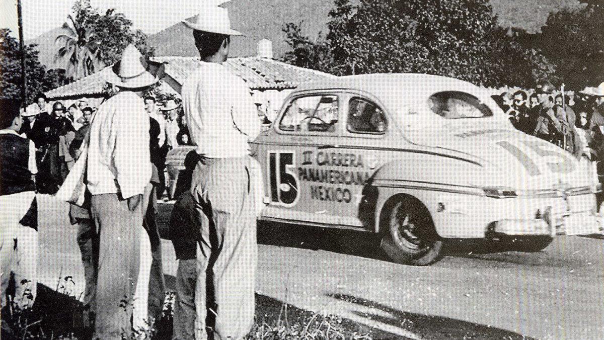 Aficionados en la Carrera Panamericana