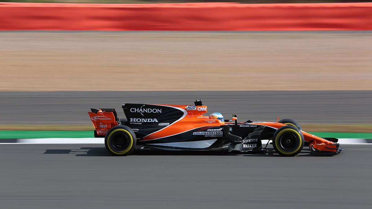 Alonso en Silverstone
