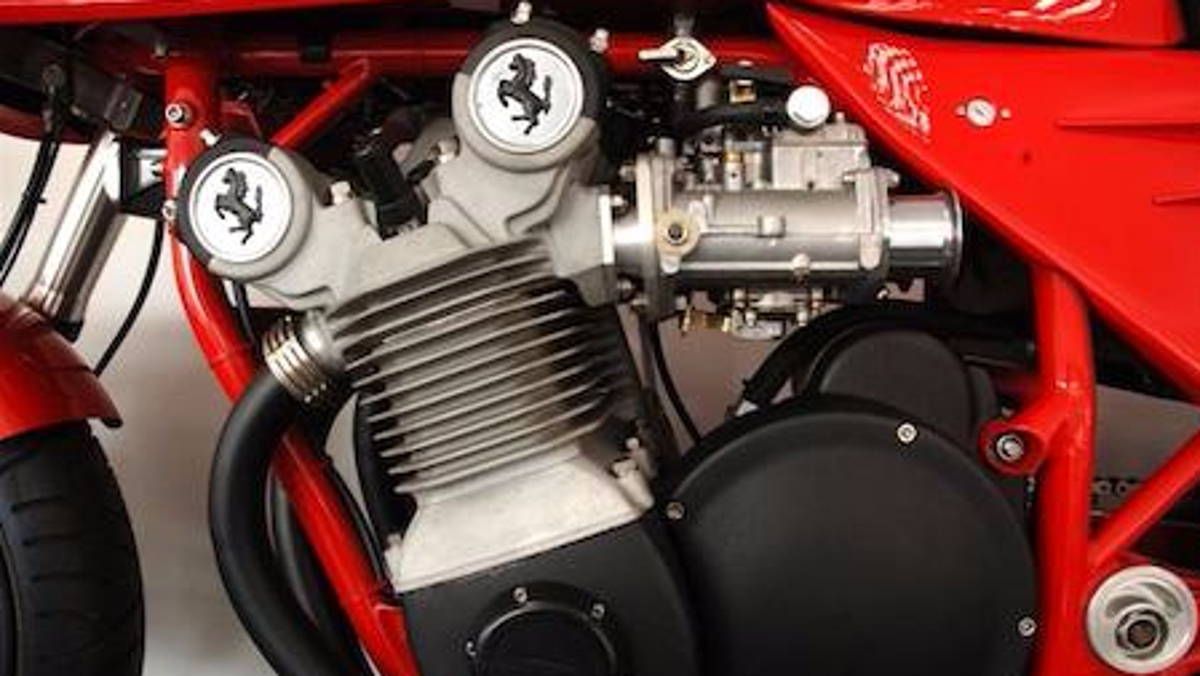 Cavallinos de la moto Ferrari
