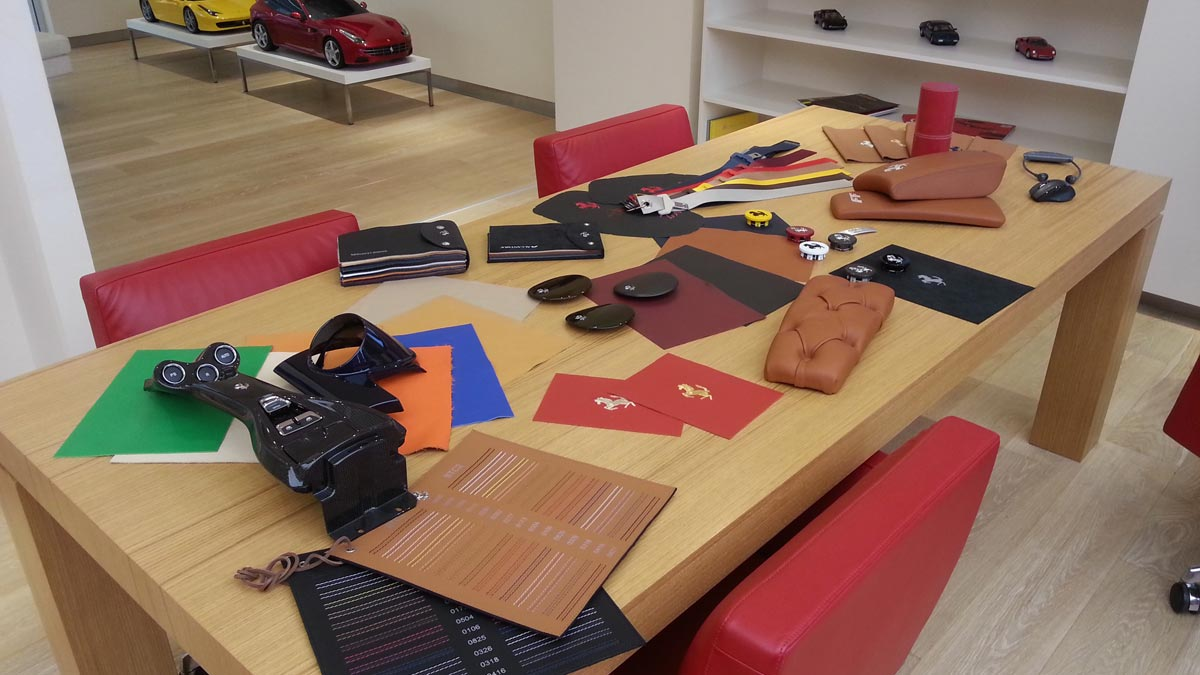 Curiosidades fábrica de Ferrari factoría lujo