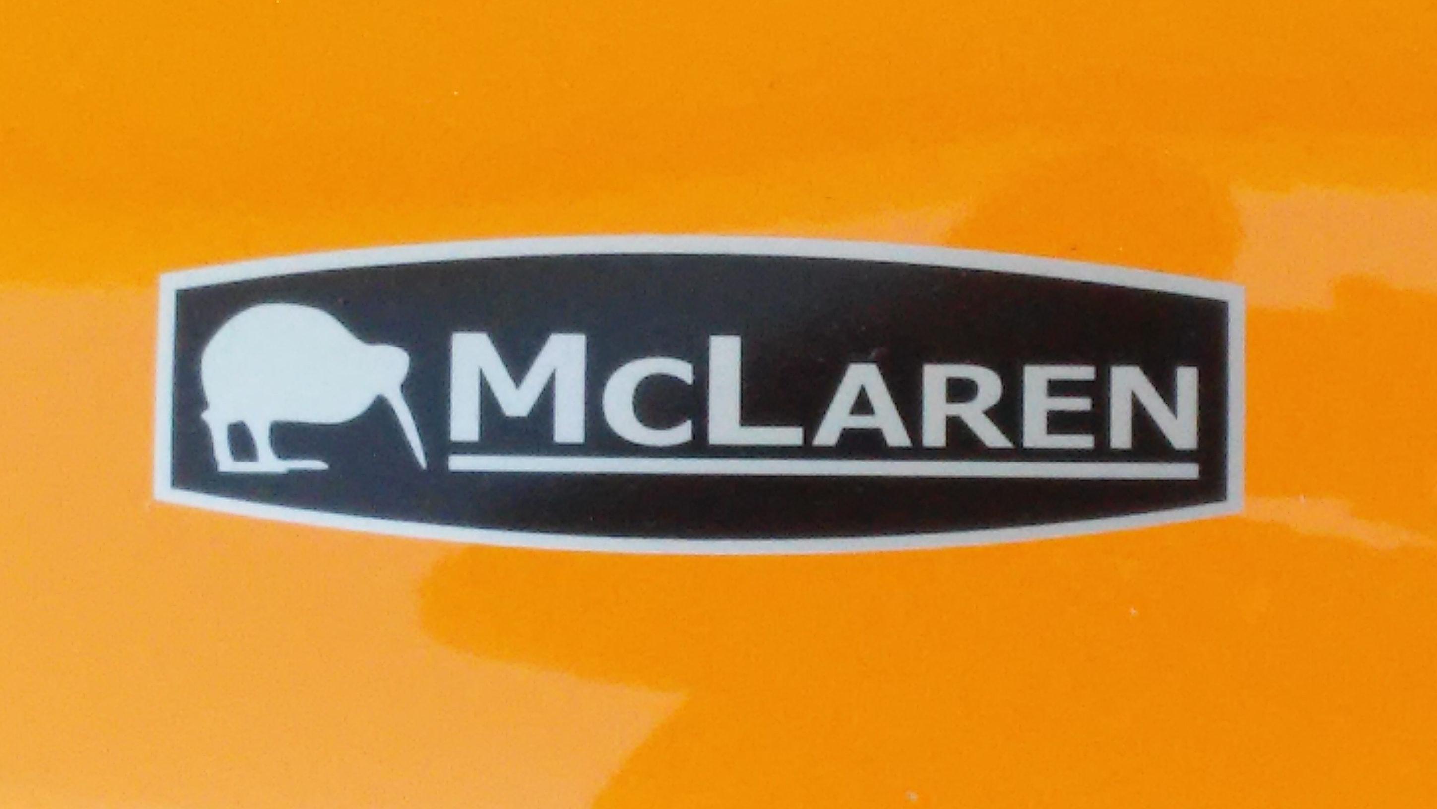 Logo del McLaren M10A de 1969