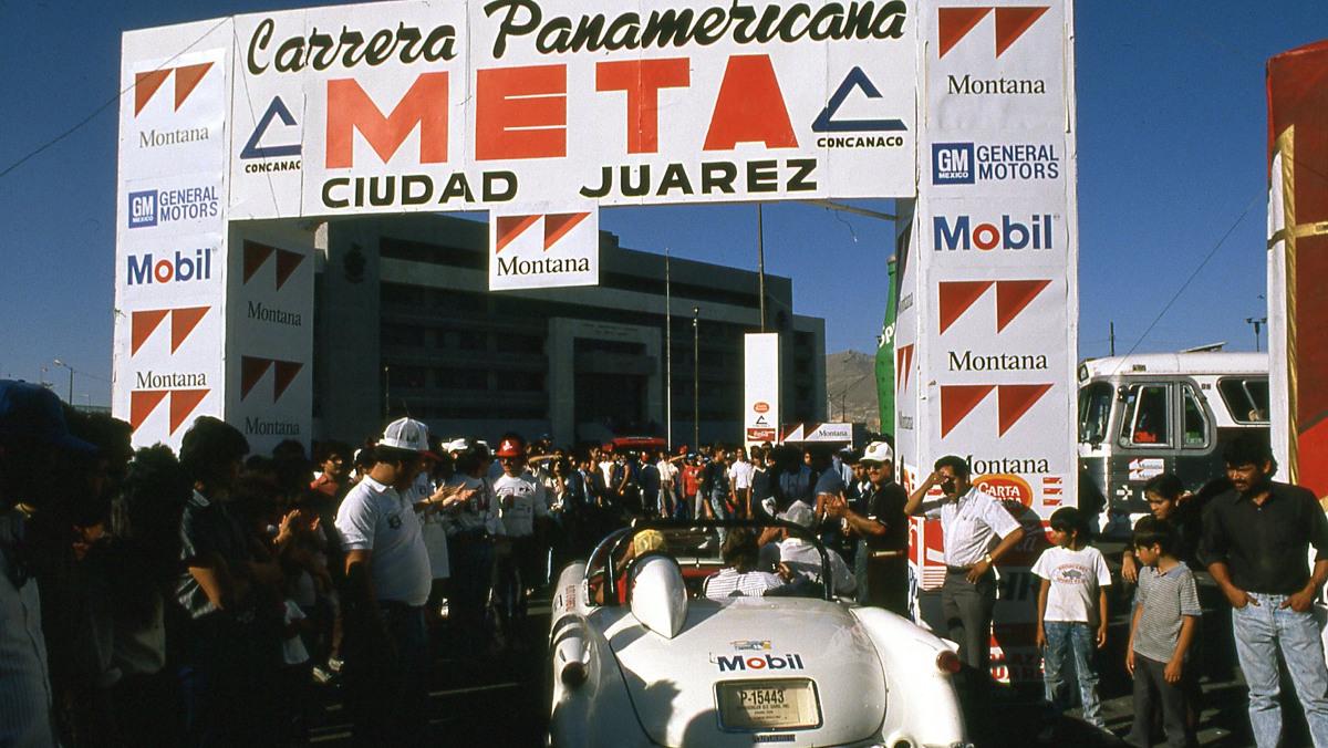 Meta de la Carrera Panamericana 1988