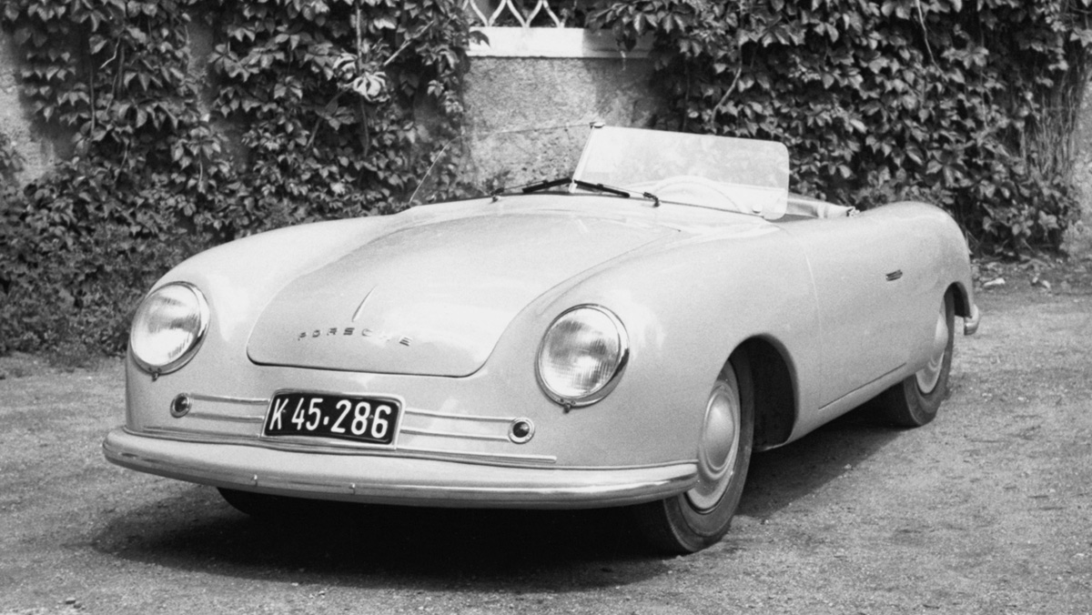 Primer Porsche: 356 (II)