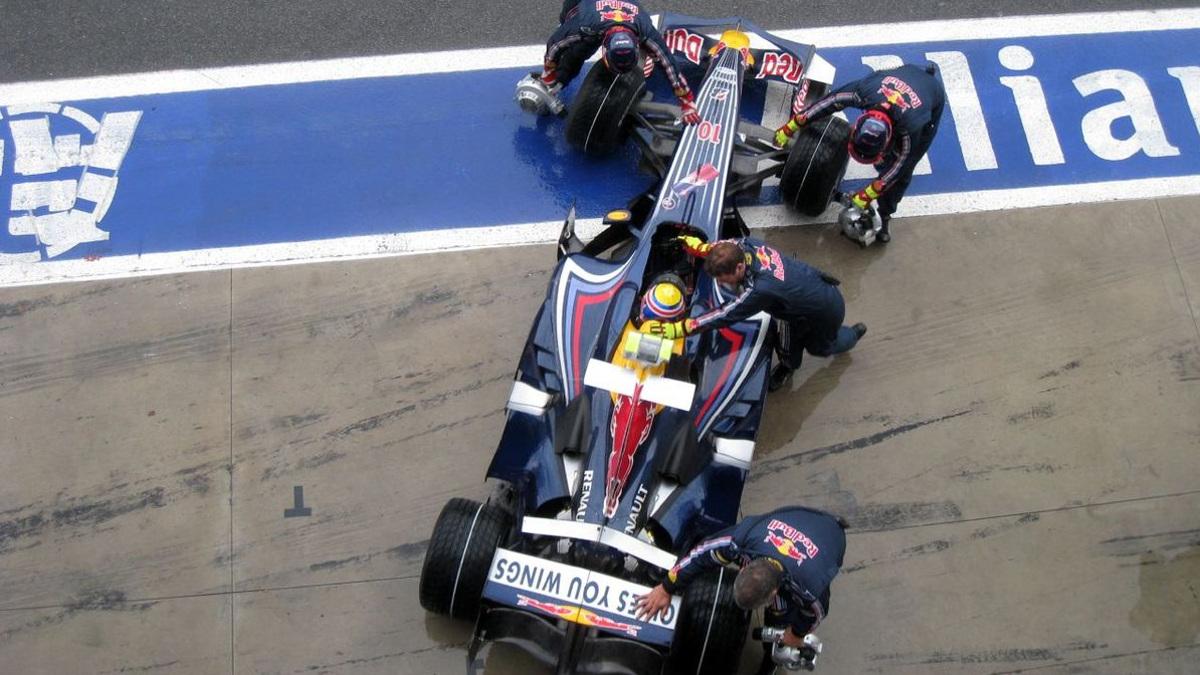 Problemas para Webber en 2008