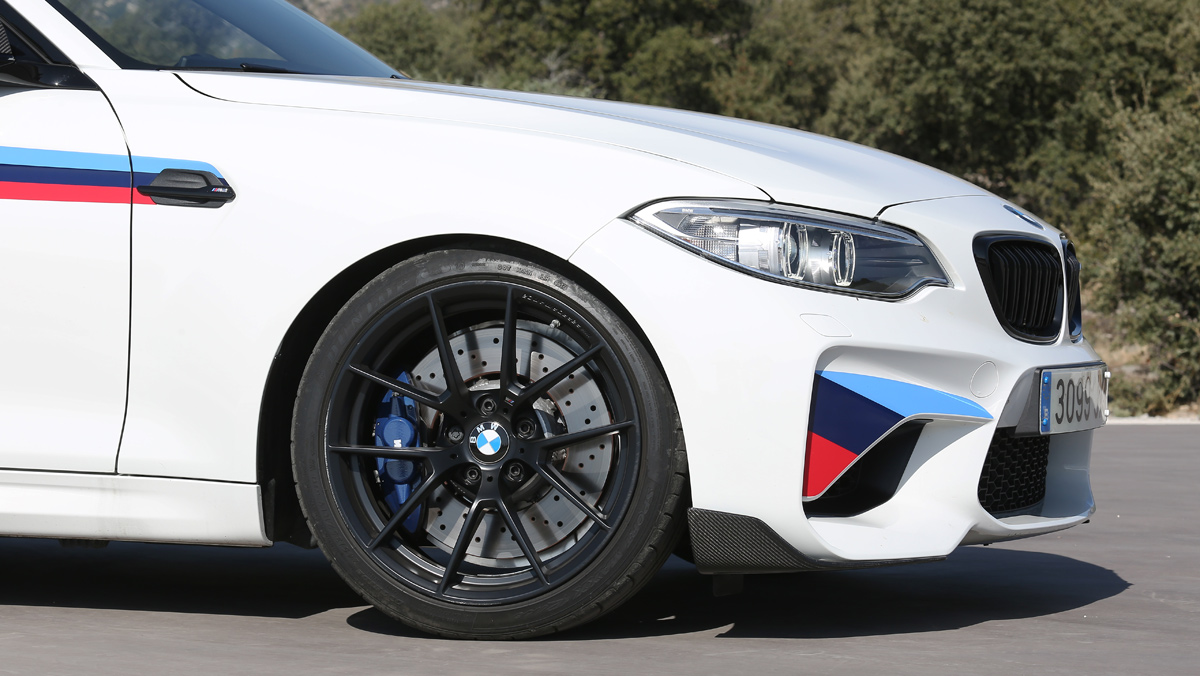 Prueba BMW M2 M Performance (splitter)