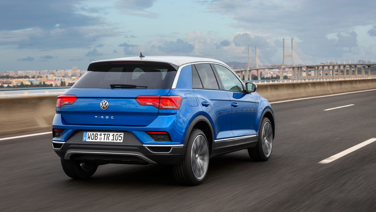 prueba volkswagen t roc el nuevo golf de los suv. Black Bedroom Furniture Sets. Home Design Ideas