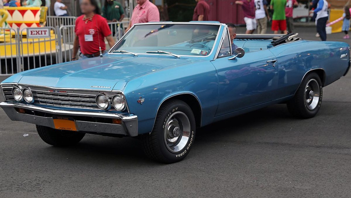 1967_Chevrolet_Chevelle_Malibu_SS_convertible Mr choppers vía Wikipedia