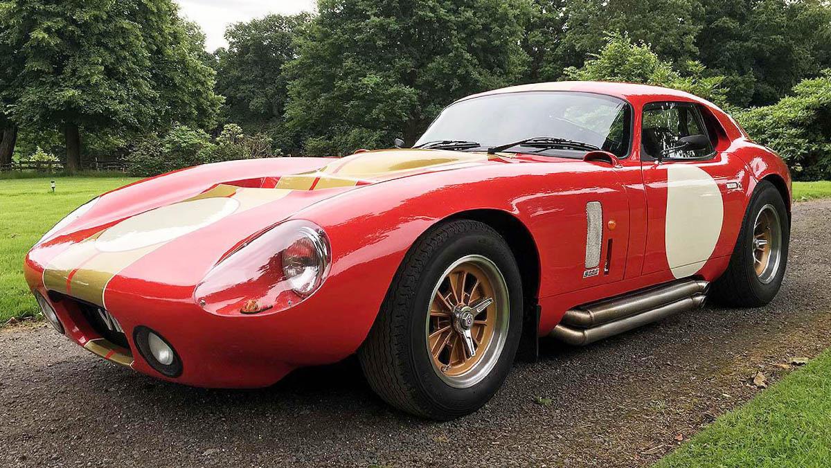 AC Cobra Coupe Le Mans