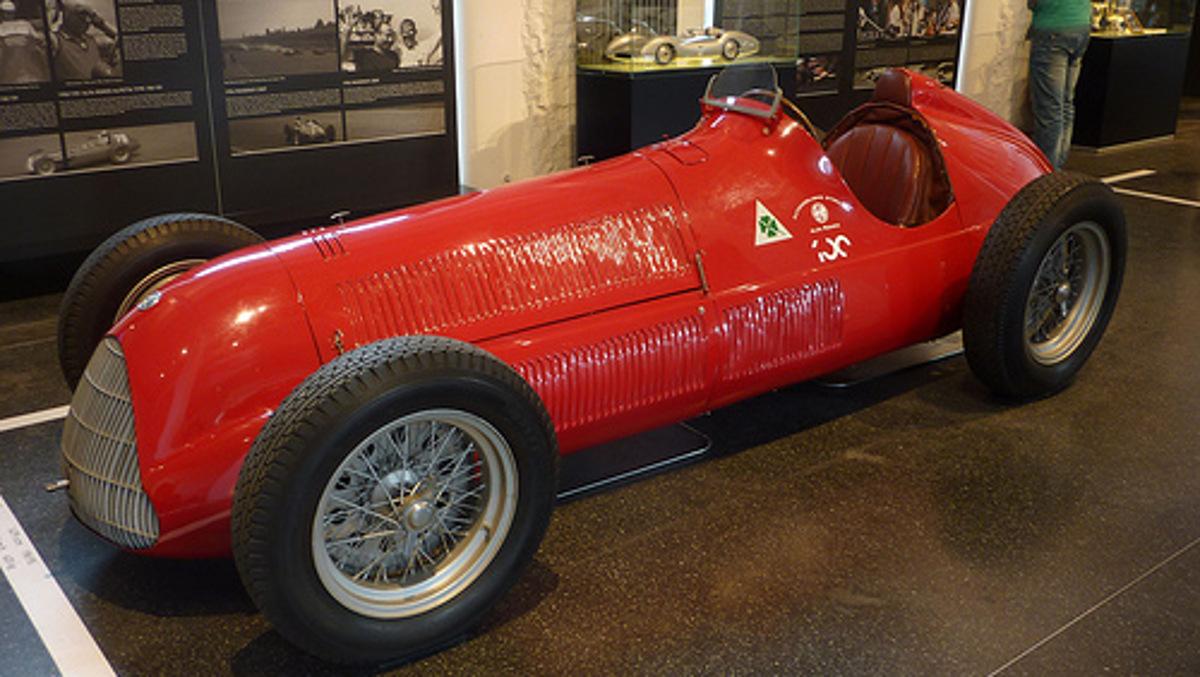 Alfa Romeo Alfetta tipo 158 (1950) -Transaxle Flickr