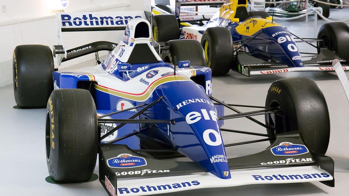 Ambos 0 en los Williams_FW16B_and_FW15C_