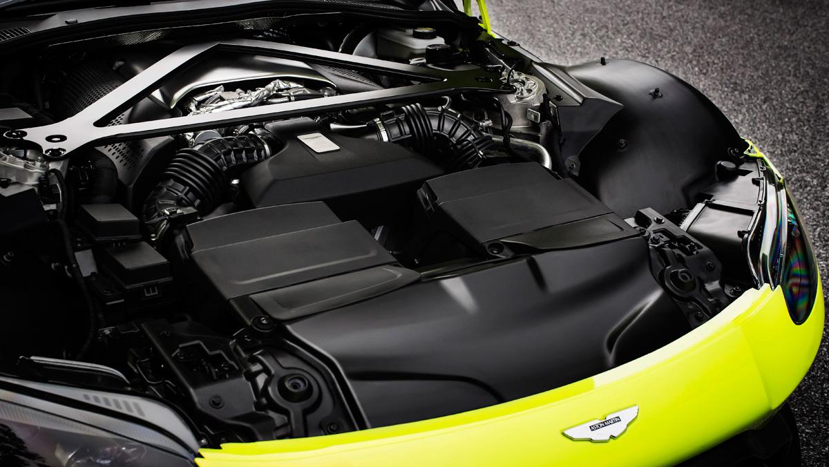 Aston Martin Vantage 2018 (motor)