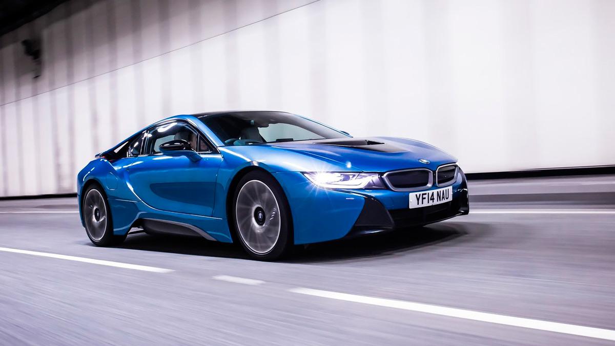 Coches eléctricos que preferirás a los de gasolina: BMW i8 (II)