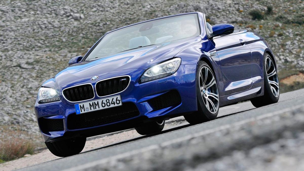 Los coches más caros de BMW: BMW M6 Cabrio