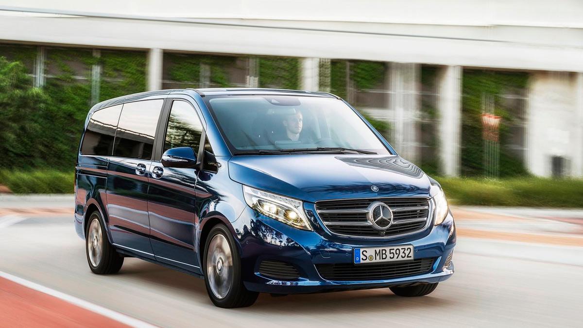 Coches para no pagar hipoteca: Mercedes Clase V (II)