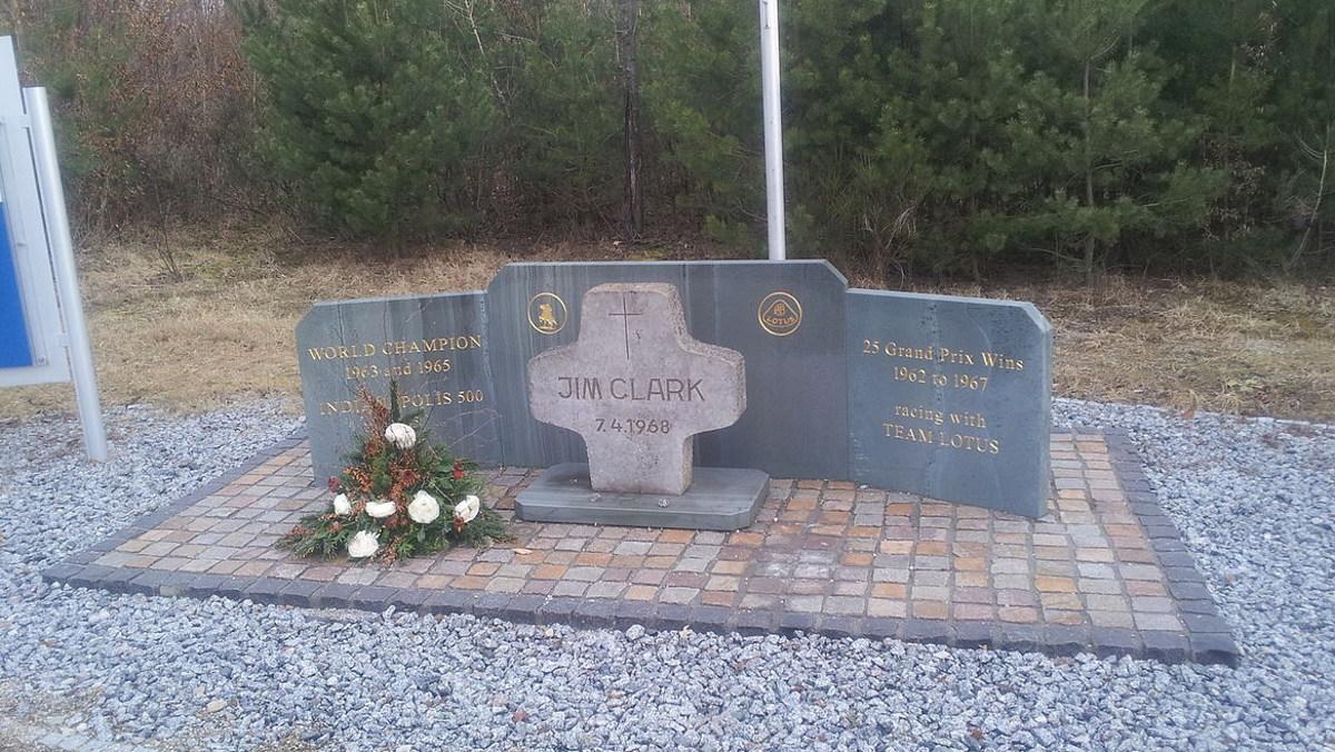 Jim Clark Hockenheimring tribute