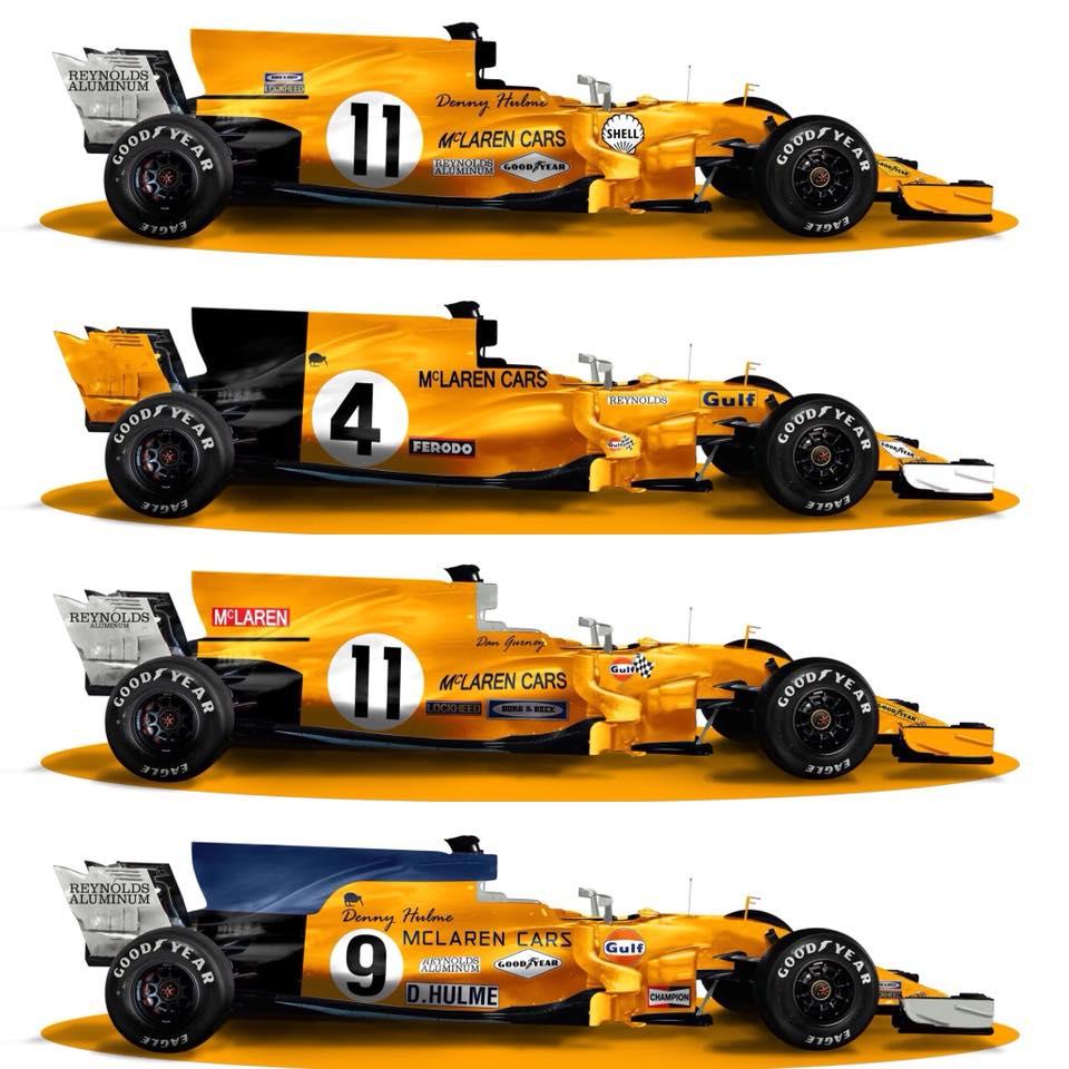 Renders McLaren F1 2018 - Sean Bull Design