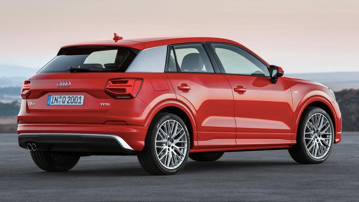 Rivales BMW X2: Audi Q2 (II)