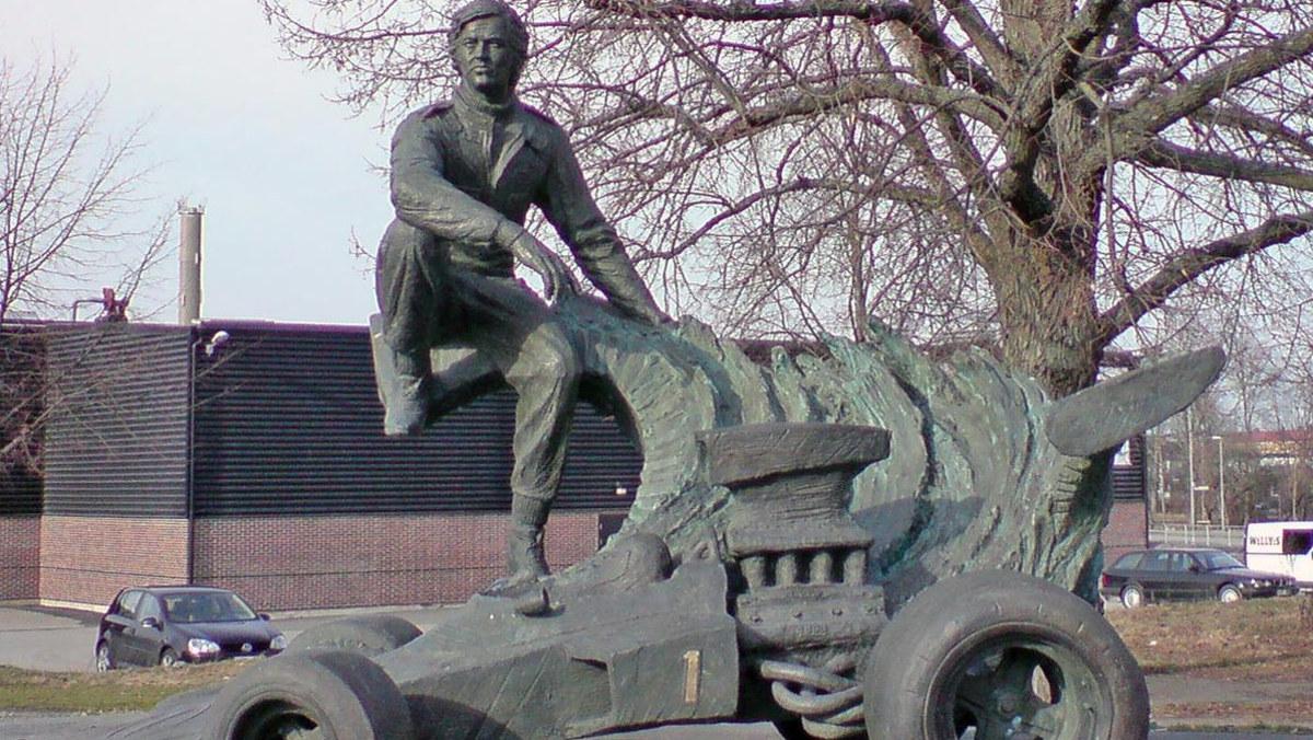 Ronnie Peterson in Almby, Örebro, Sweden