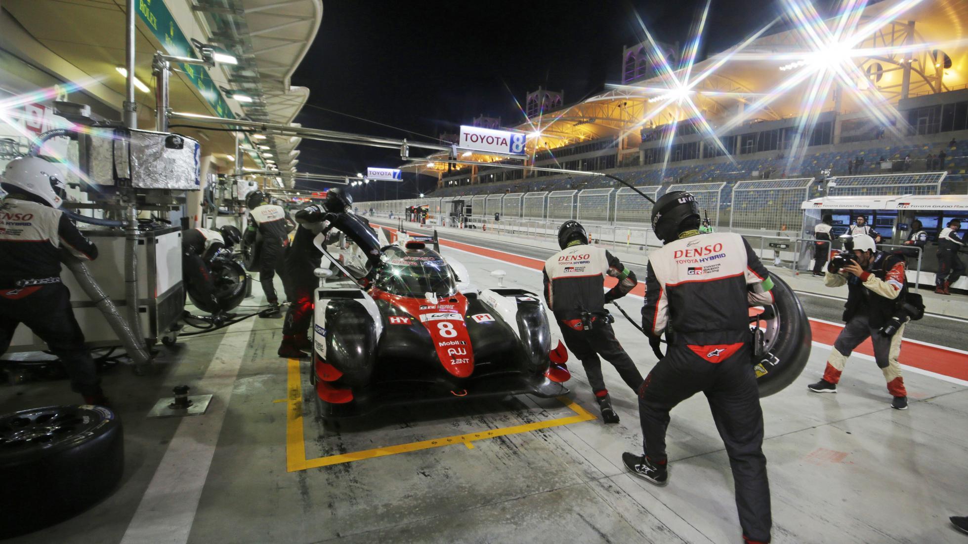 Toyota sábado noche en Baréin