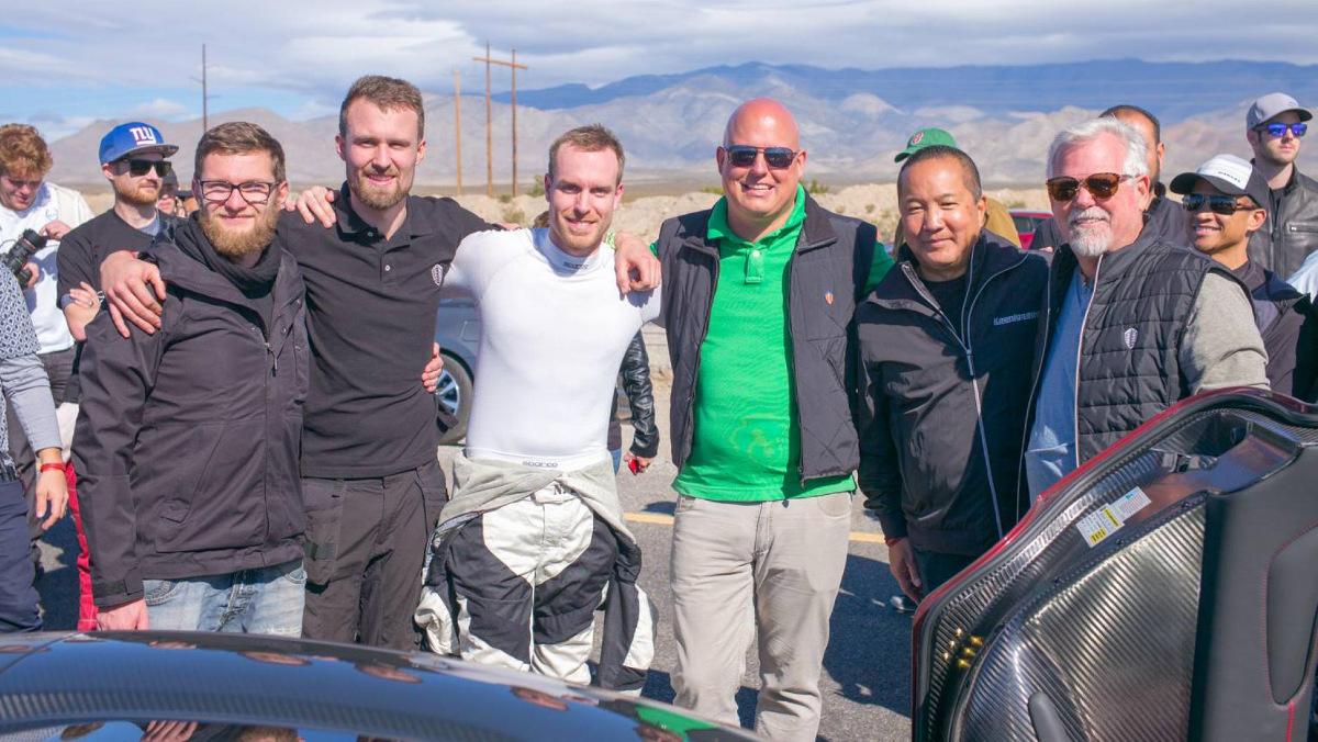 La tropa de Koenigsegg