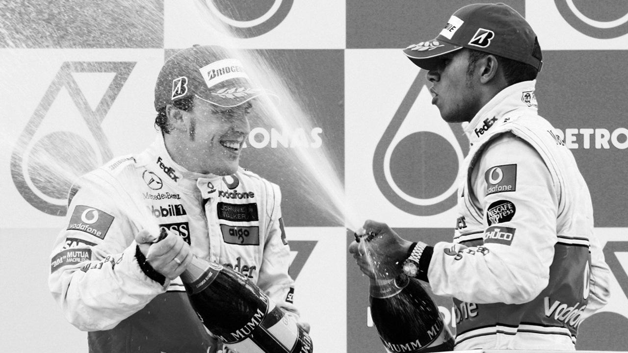 Alonso y Hamilton en 2007