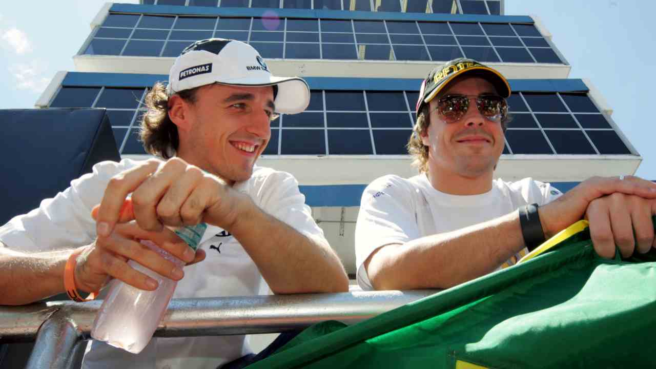 Alonso y Kubica