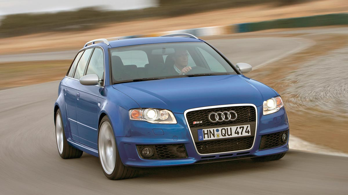 Audi RS4 B7 deportivo familiar lujo