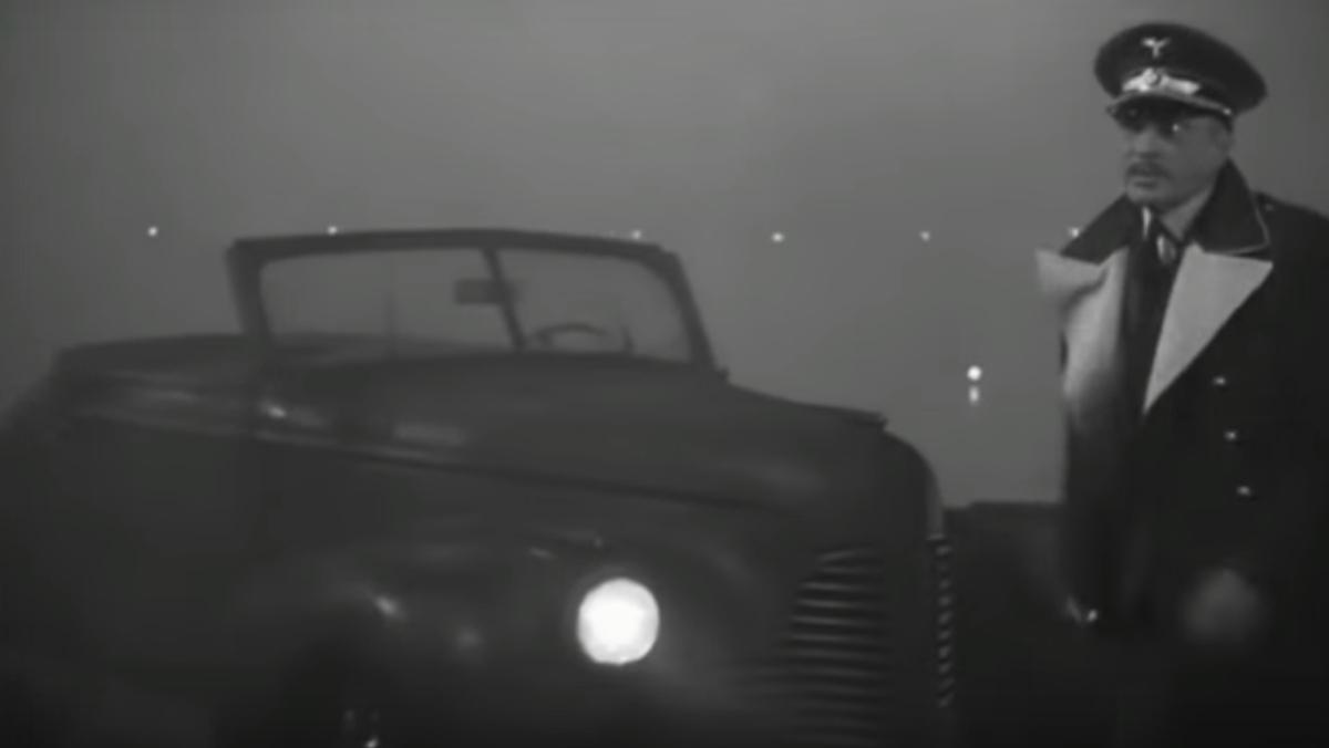 Los coches de Casablanca: CenturyConvertible Coupe66-C del '40 del Mayor Strasser