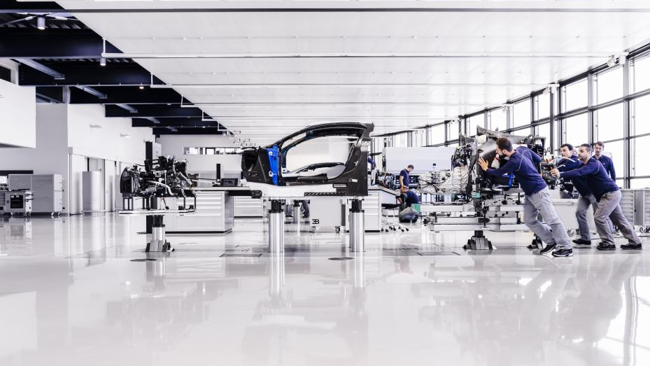 Fabricación Bugatti Chiron (VII)
