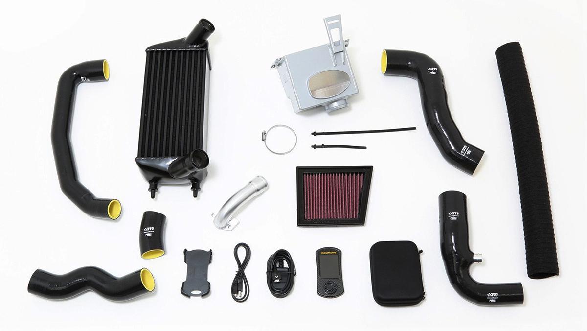 El kit de Mountune para el Fiesta 1.0 EcoBoost
