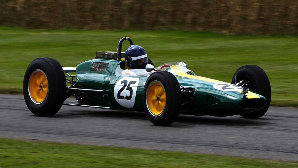 Lotus 25 Chapman 1962