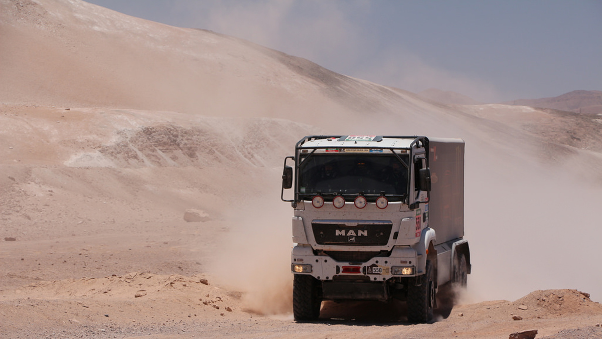 Los mamuts del Rally Dakar 2018