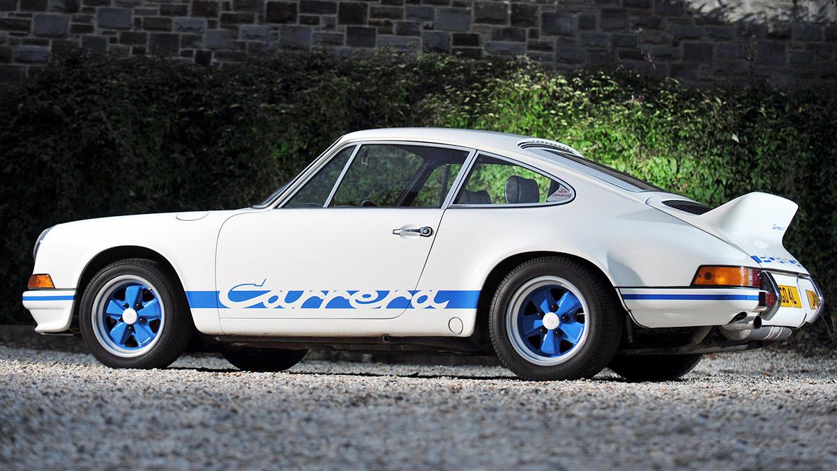 Porsche 911 Carrera RS 2.7 de 1973