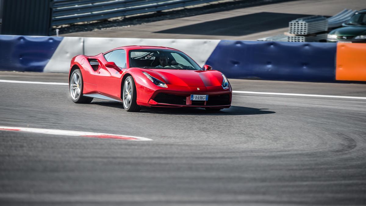 Prueba Ferrari 488 GTB