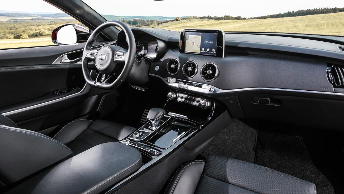 Prueba Kia Stinger V6