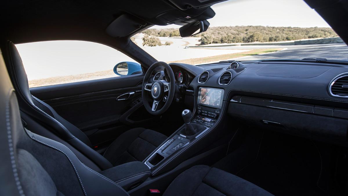 Prueba Porsche 718 Cayman GTS (interior)