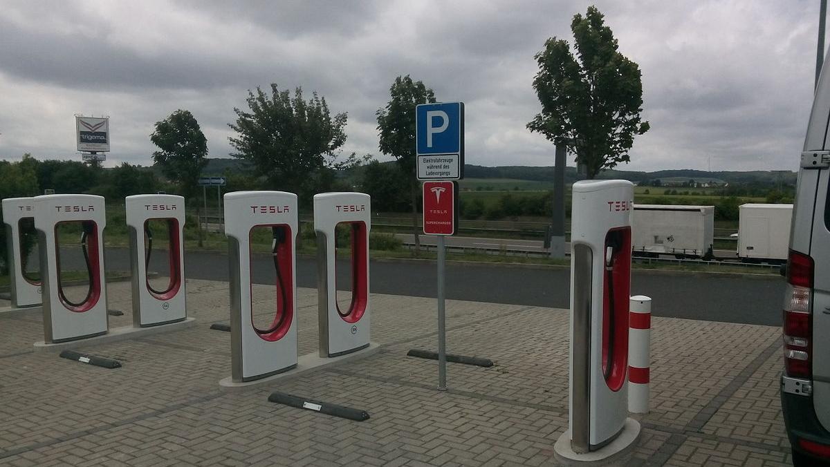 Puntos de recarga Tesla