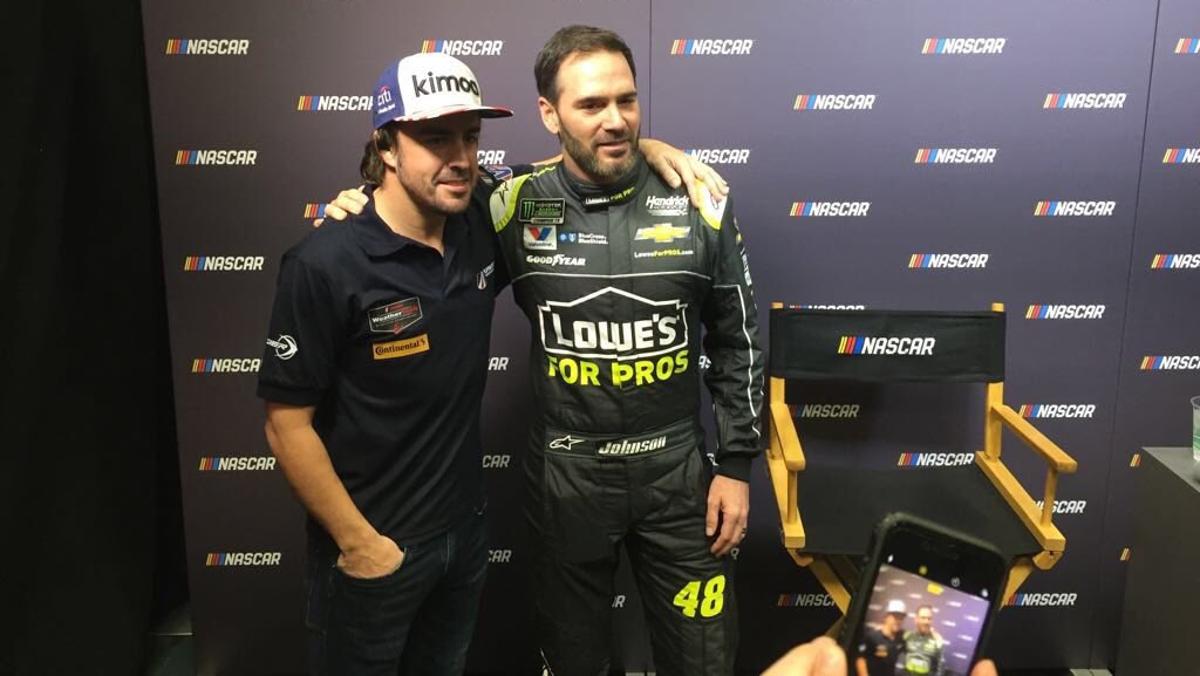 Alonso en Charlotte