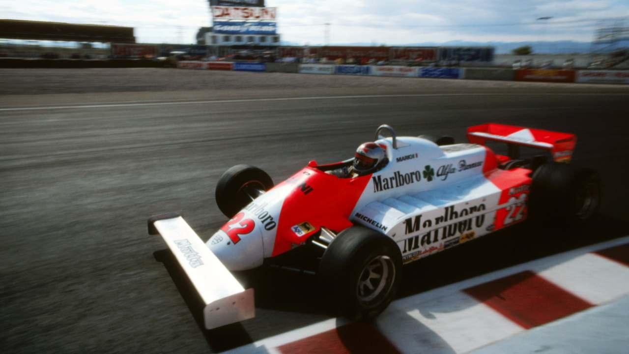 Andretti Las Vegas 1981
