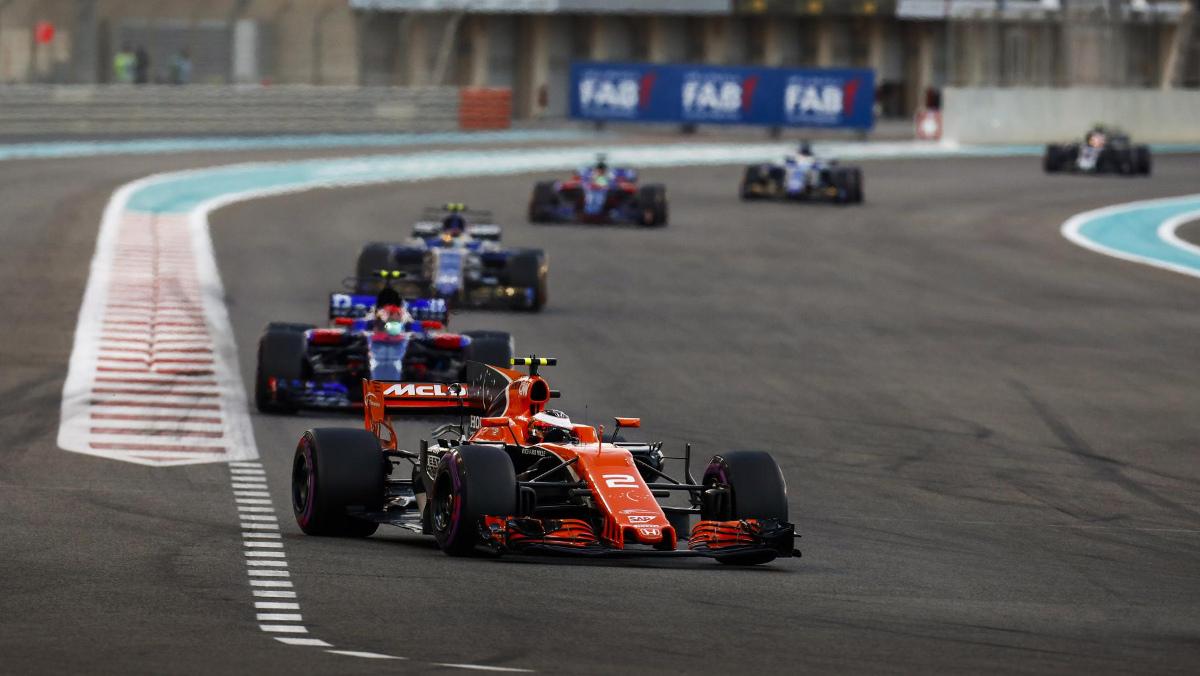 Estadísticas F1 2017: km recorridos
