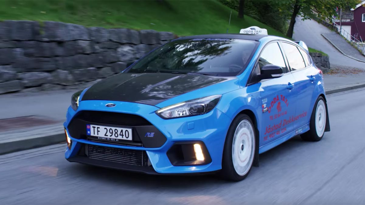 El Primer Ford Focus Rs Taxi Es Un Generador De Felicidad