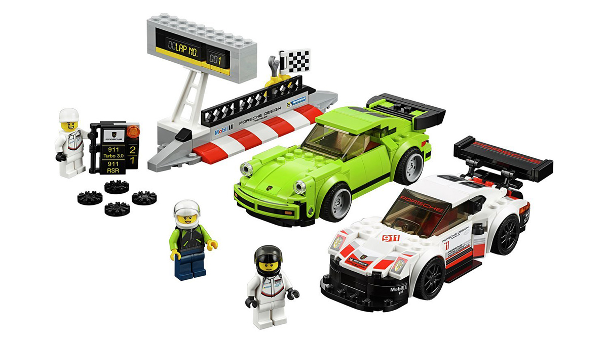 el 911 turbo el mustang y el 250 gto llegan a lego speed champions. Black Bedroom Furniture Sets. Home Design Ideas