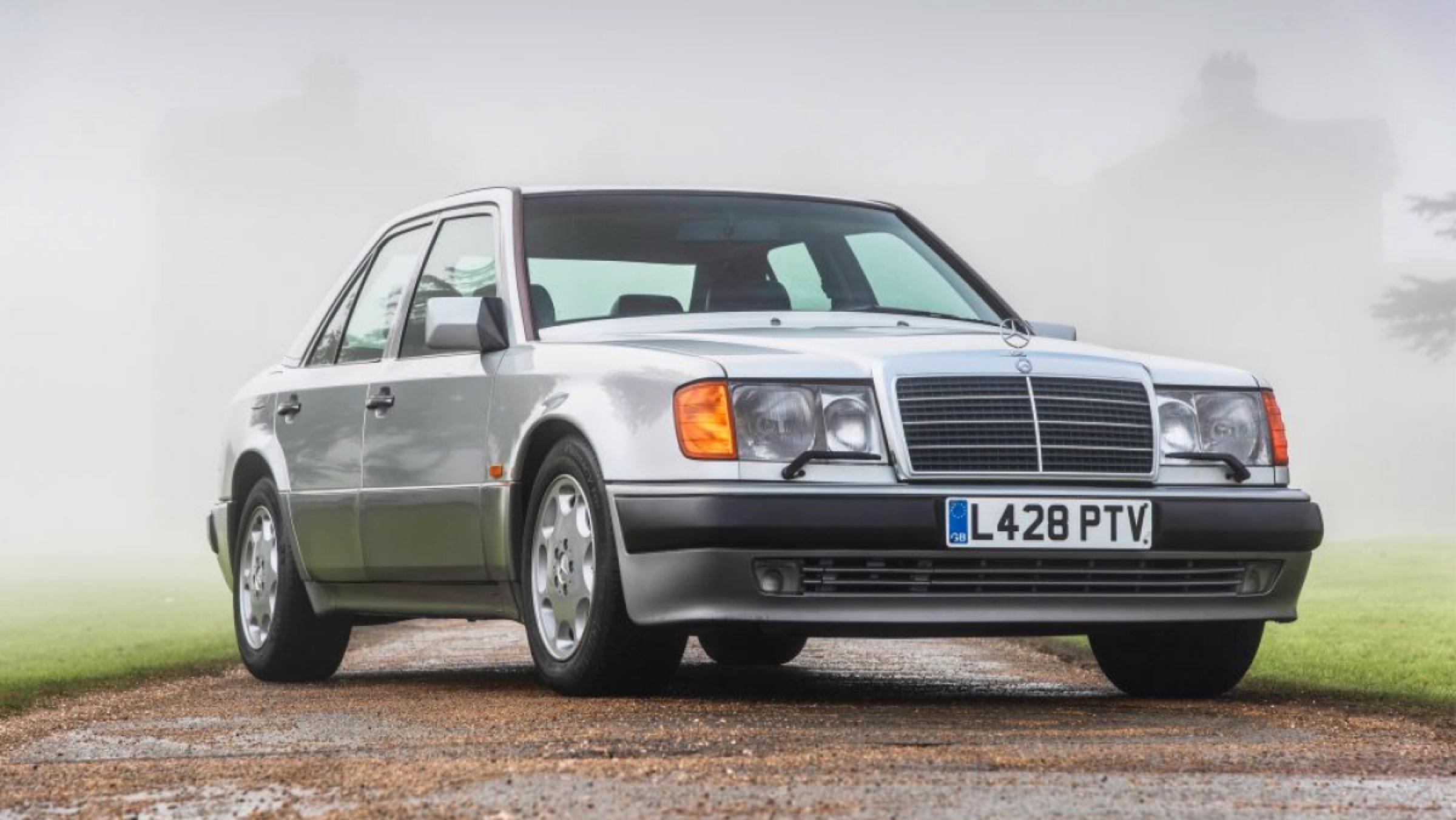 Mercedes 500E Mr.Bean